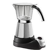 DeLonghi EMK6 Electric Espresso Maker 3-6 Cups - K117998