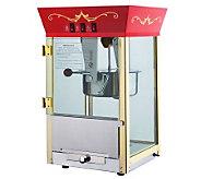 Red Matinee Movie 8-oz Antique-Style Popcorn Machine - K131898