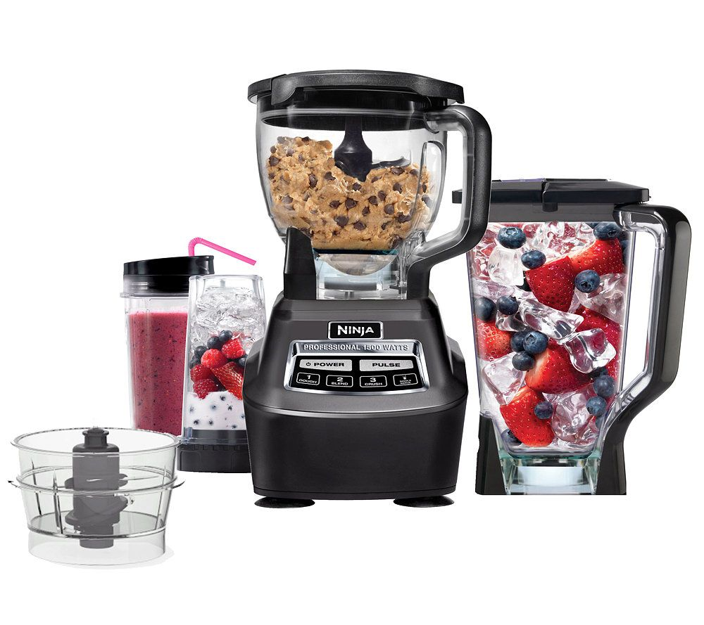 ninja 3-in-1 kitchen system pro - page 1 — qvc