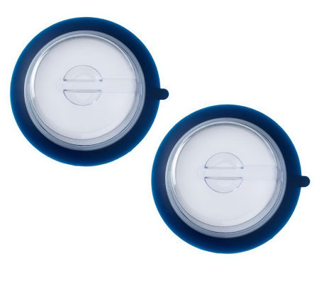 Set of 2 Keep Fresh Airtight PlateToppers