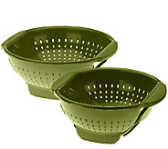Farberware 3qt and 5qt Trap Door Colanders - K41098