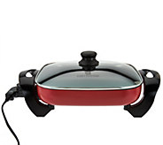 CooksEssentials 12x12 Nonstick Electric Skillet - K44498