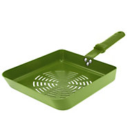 As Is Rectangle Non- stick BBQ Saute Pan by Mark Charles Misilli - K307299