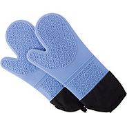 Lavish Home Reversible Silicone Heat-Resistant Oven Mitts - K374799