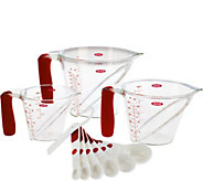 OXO Good Grips 10-piece Angled Measuring Cup & Spoon Set - K44899
