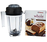 Vitamix 32 oz. Dry Grains Blending Container w/ Recipe Book - K46699