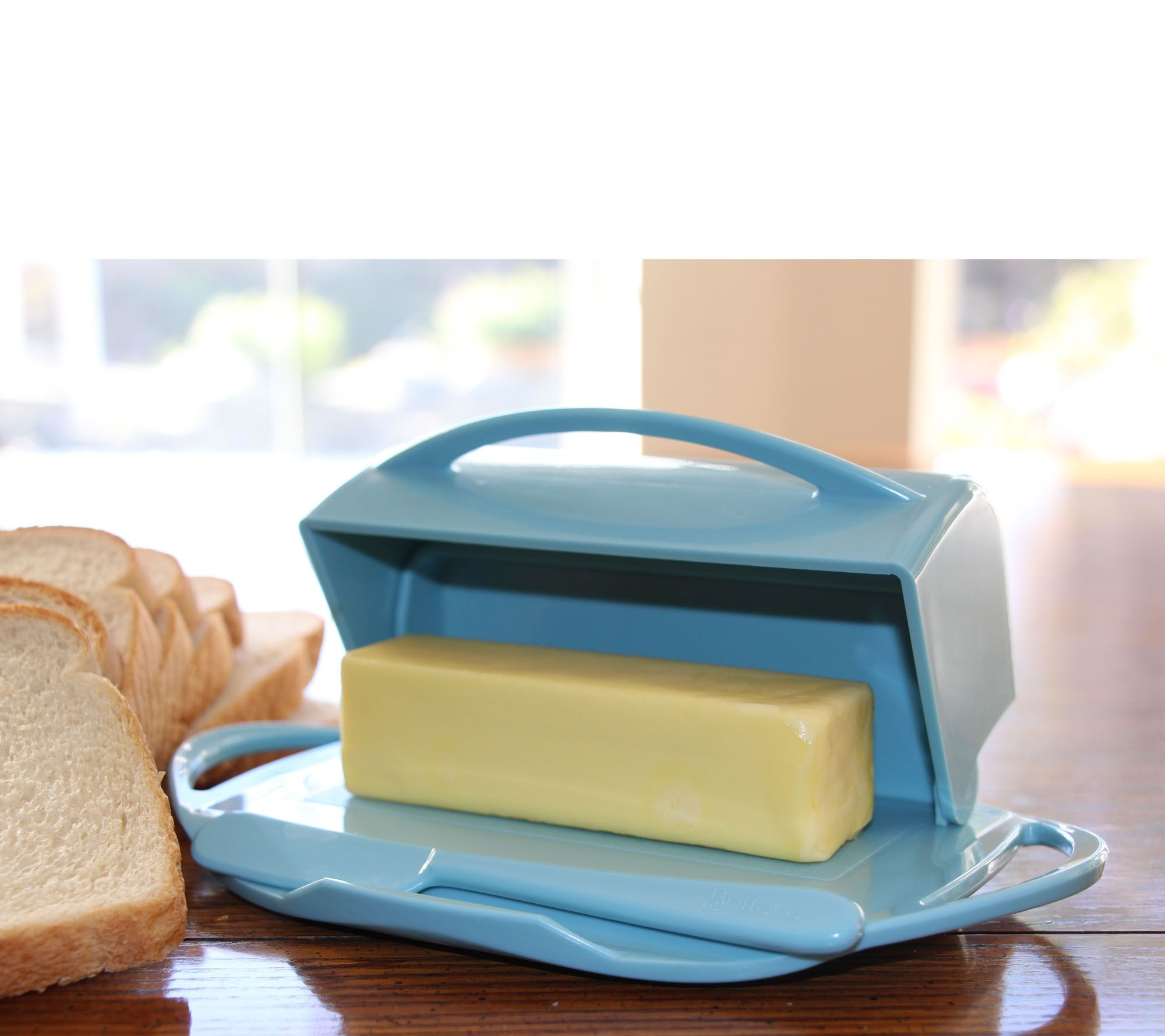 butterie s2 fliptop lid butter dishes w matching spreaders page 1 u2014 qvccom