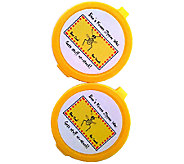 Bees Knees Set of 2 Multi-Purpose 100Bees Wax Discs - L43710