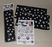 Set of 2 Doggie No Slips Car Window Cover for Dog Paws - L41327