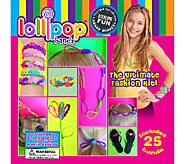 LollipopBandz Set of 25 Fun Color Silicone Bracelets - L41664