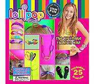 LollipopBandz Set of 25 Fun Color Silicone Bracelets - L41664