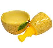 Juicynista More Juice Less Hassle Lemon Juicer - L39876
