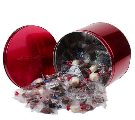 Harry London S 6 Lb Assorted Chocolates Red Tin Page 1
