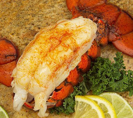 Lobster Gram (8) 5-6oz. Maine Lobster Tails - Page 1 — QVC.com