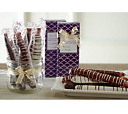 Mrs. Prindables (8)3pc Caramel & Chocolate Covered Pretzel Rods w/ Boxes - M49300