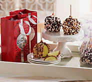 Mrs. Prindables 10 Individual Size Apples with Holiday Gift Bags - M51000