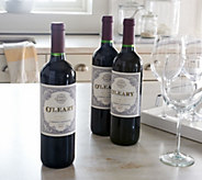 Ships 5/16 Vintage Wine Kevin OLeary 3-Bottle Set Auto-Delivery - M50801