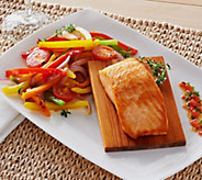 Ships 12/5 Egg Harbor (10) 6oz Cedar Plank Faroe Island Salmon Filets - M51301