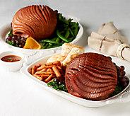 Smithfield (2) 3-4 lb. Boneless Hams with Glaze Auto-Delivery - M53301