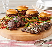 Rastelli 10-lb Best of Rastelli Steak & Burger Sampler - M57301