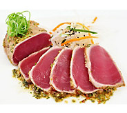 Anderson Seafoods Fresh Yellowfin Ahi Tuna (6)5-oz Filets - M113702