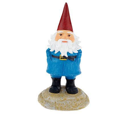 Travelocity 13 Roaming Gnome Garden Statue Qvc Com
