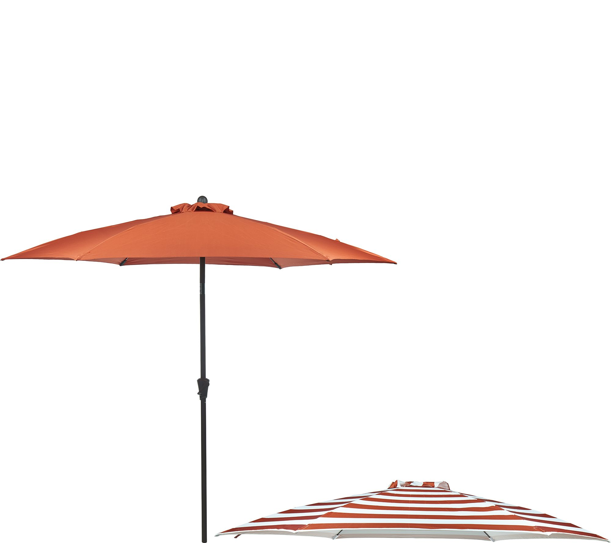 ATLeisure 9 Airflow Patio Umbrella With 2 Canopies