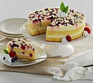 Ships 11/7 Frankie Avalon 3 lb. Italian Berry Layer Cake - M52602