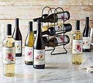 Vintage Wine Estates 12 Bottle In Bloom Wine Set - M54302