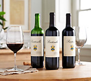 Vintage Wine Estates Valerie Bertinelli 3 Bottle Set Auto-Delivery - M56002