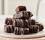 Davids Cookies (36) 1.1-oz Enrobed Brownies with White Drizzle - M56302