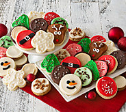 Ships 10/31 Cheryls Holiday 24 pc Premiere Frosted Cookies - M114903