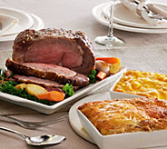 Ships 12/5 Kansas City 4.5 Prime Rib w/(2) Sides Auto-Delivery - M51403