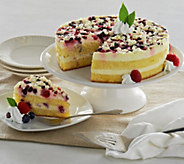 Ships 12/5 Frankie Avalon 3 lb. Italian Berry Layer Cake - M52603