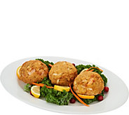 SH 12/4 Great Gourmet (7) 8 oz. Colossal Crab & Shrimp Cakes - M55403