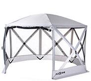 SlumberTrek Flexion Pavilion Gazebo with Mesh Sides - M56203