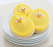 Cheryls 12-Piece Chick Cutout Cookies - M112004