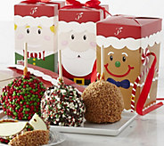 Mrs. Prindables 10 Pc Candy & Chocolate Apples w/ Gift Boxes - M116704