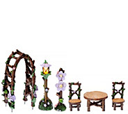 Plow & Hearth 6-pc. Fairy Garden Accessory Set - M49004