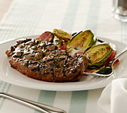 Rastelli Market Fresh (8) 10 oz. Black Angus Ribeye Steaks - M51704