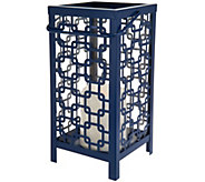 Scott Living Indoor/Outdoor Diamond Trellis Lantern - M52704