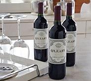 Vintage Wine Estates Kevin OLeary Holiday Reserve 3 Bottle Set - M53504