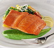 Anderson Seafoods (8) 6 oz. Alaskan Sockeye Salmon Auto-Delivery - M53904