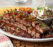 Bubbas Q (5) 18 oz. Boneless Baby Back Ribs in Sauce - M55104