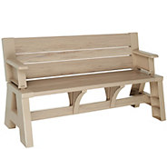 Convert-A-Bench Ultra III Outdoor 2-in-1 Bench-to-Table w/ 5 Year LMW - M55604