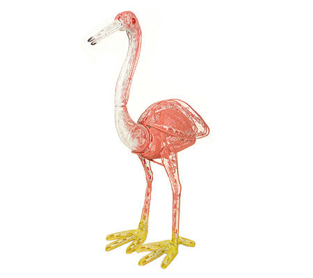 Flamingo Animated Lighted Garden Sculpture