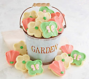 Cheryls 16-Pc Garden Flower Pail - M115705