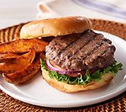 Bubbas Q (10) 5 oz. Black Angus Brisket Burgers - M55105