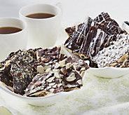 Wild Lizzys (4) 12 oz. Gourmet Toffee Saltine Cracker Assortment - M48206