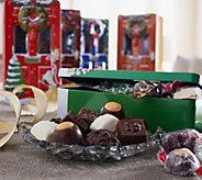 Harry London Set of 5 Holiday Door Tins w/5lbs. of Chocolate - M51206